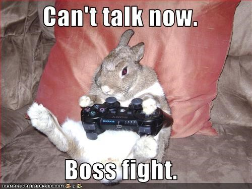 boss fight rabbit