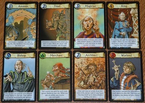 citadels - roles