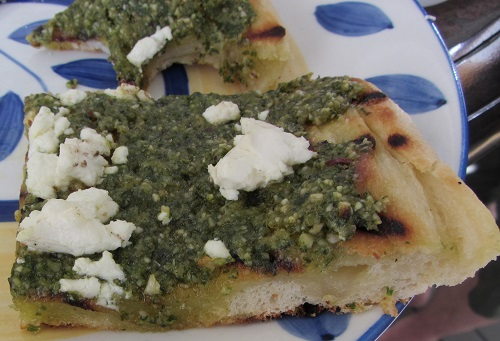 150720 pesto flatbread