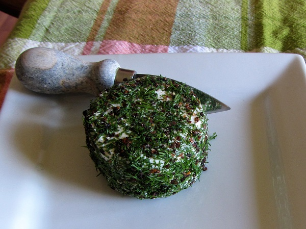 170529 goat cheese with dill