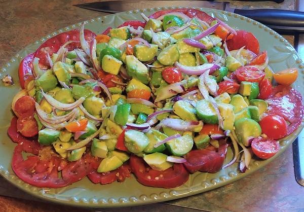190908 tomato carpaccio salad